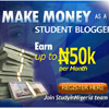 Make money as a student blogger